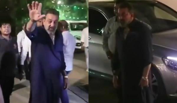 दिवाली पार्टी पर नशे में डूबे संजय दत्त ने फोटोग्राफर्स के सामने निकाली गाली, वायरल VIDEO