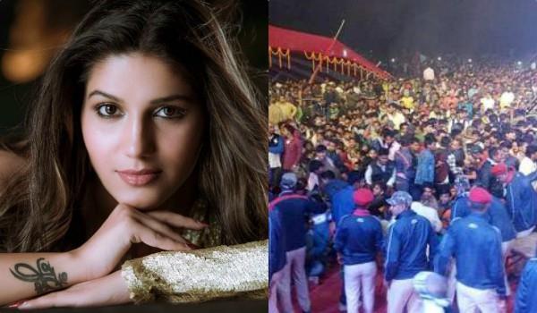 sapna chaudhary program ruckus crowd
