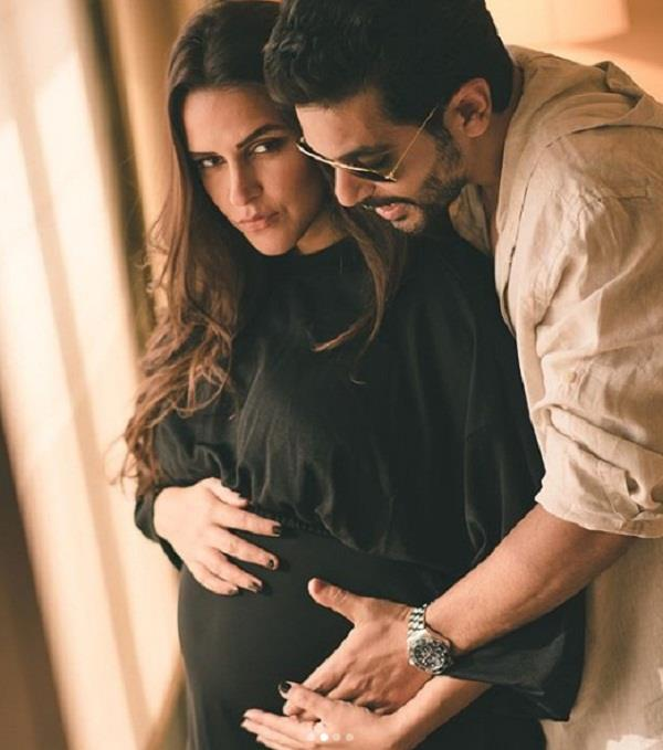 neha dhupia blessed with a baby girl