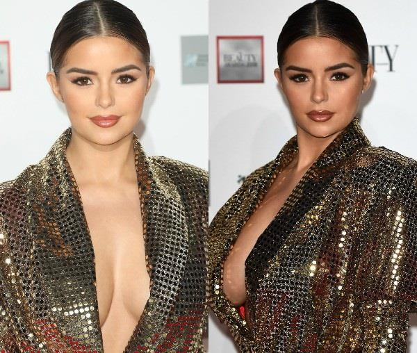 demi rose bold looks