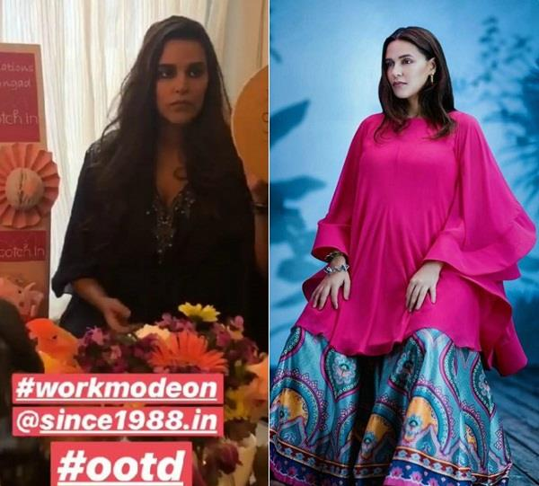 neha dhupia on work