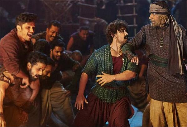 movie review of thugs of hindostan