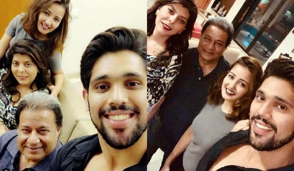 anup jalota shivashish mishra and roshmi banik dinner date