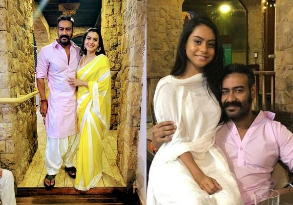 diwali celebration of ajay devgn and kajol