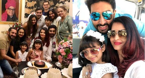 aishwarya rai shayaris pics from her birthday celebration