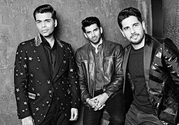 siddharth malhotra and aaditya roy kapoor on koffee with karan season 6