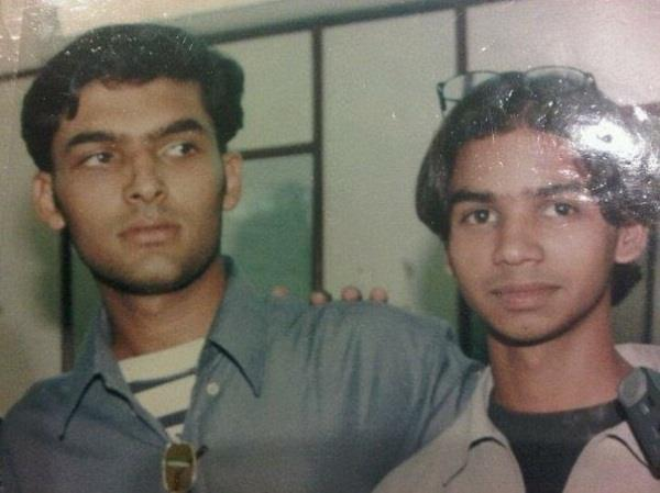 kapil sharma share old picture