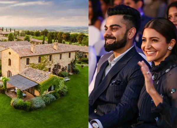 इटली के इस रिजॉर्ट में हुई थी विरुष्का की शादी, एक रात के लेते है इतने लाख