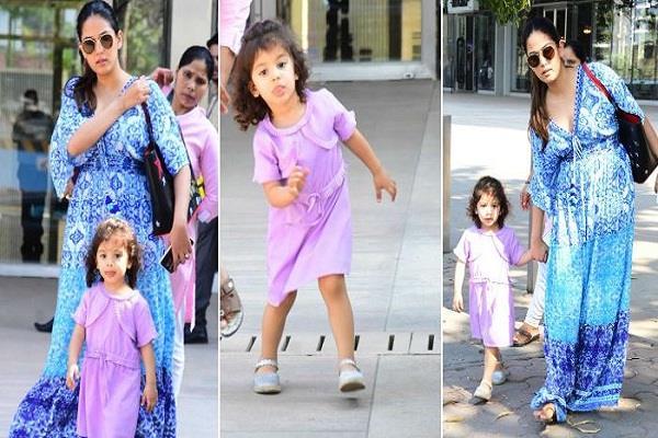 mira rajput with daughter misha kapoor
