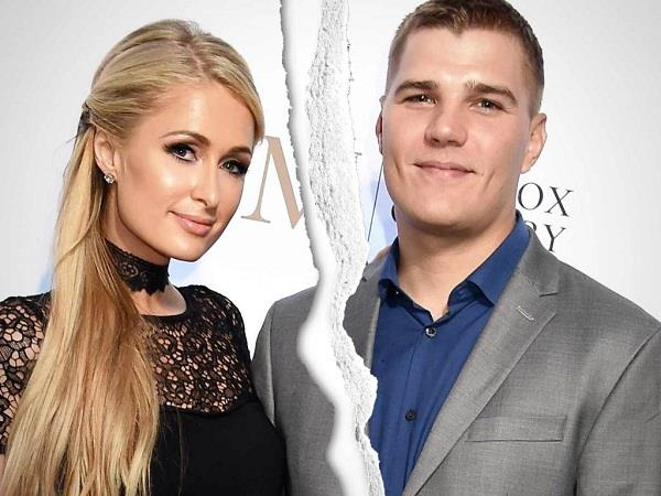 paris hilton and chris zylka relationship split