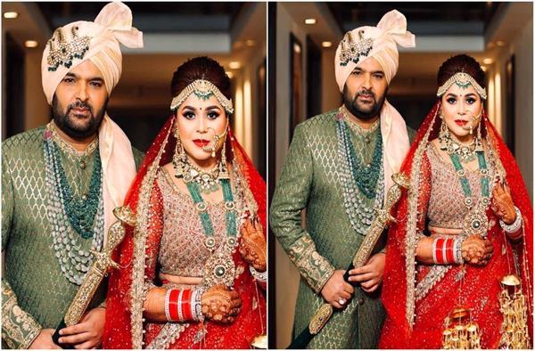 सामने आया कपिल शर्मा और गिन्नी की शादी का वीडियो, आप भी डालें एक नज़र