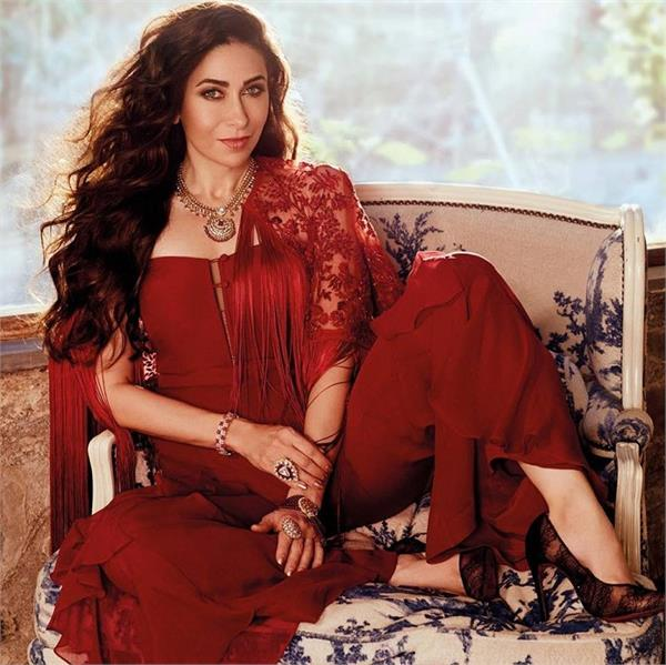 karishma kapoor on cover page of brides today see pics