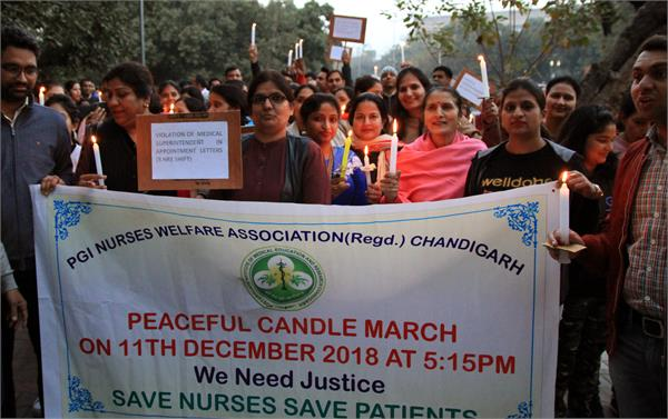 candle march