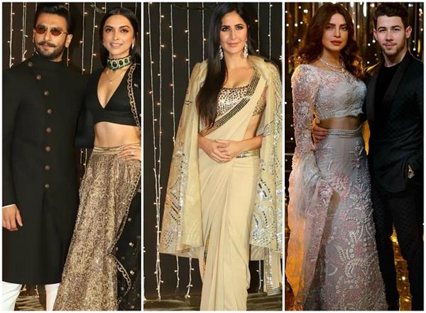 bollywood stars glamours in nickyanka reception