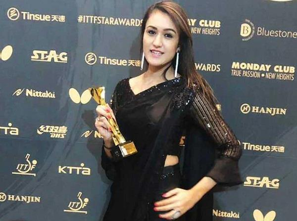 manika batra won breakthrough star award