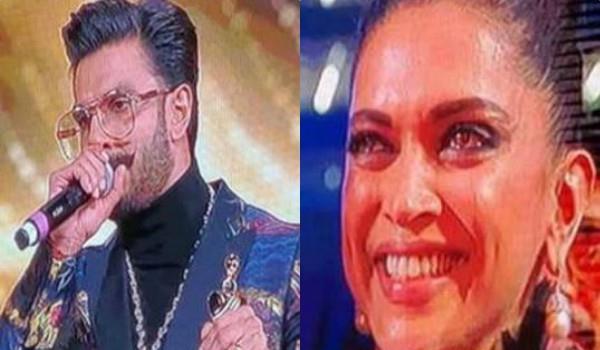 deepika cried when ranveer got best actor award