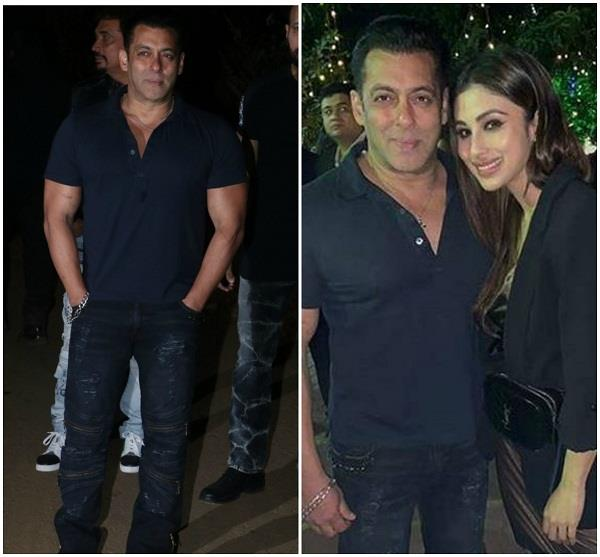 salman khan celebrated birthday with family and friends