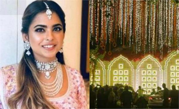 antilia is decorated for isha ambani anand piramal wedding