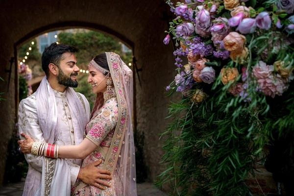 virat kohli and anushka sharma first wedding anniversary