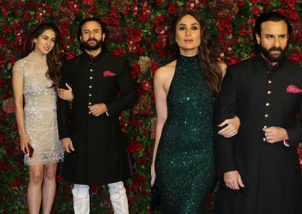 sara ali khan kareena kapoor khan ignore each other at deepveer reception party
