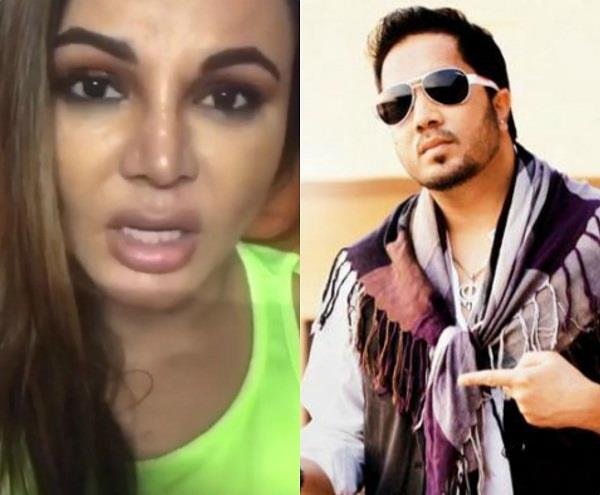 rakhi sawant crying for mika singh