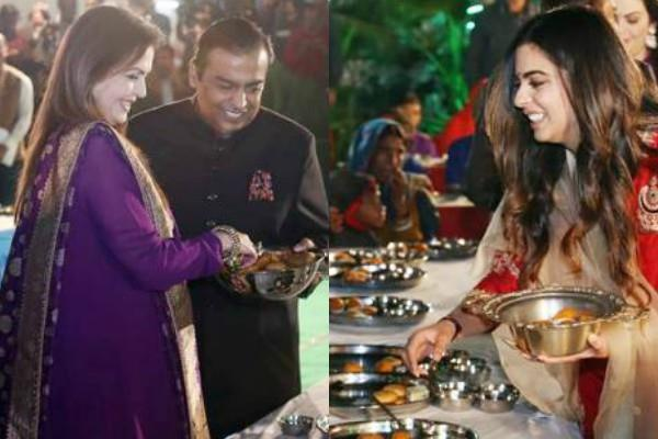 mukesh ambani daughter isha pre wedding ceremony in udaipur