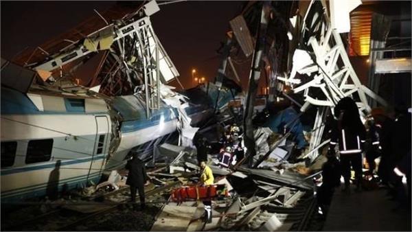 4 dead 43 injured in high speed train accident in turkey