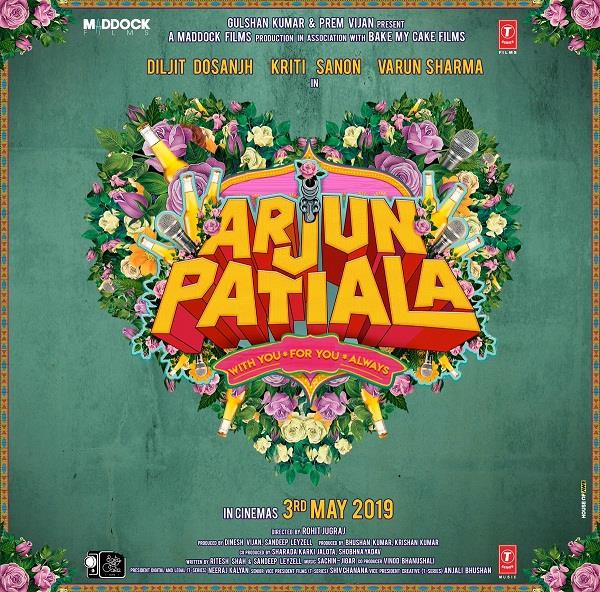 diljit dosanjh movie arjun patiala release in 2019