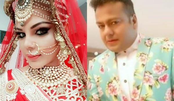 rakhi sawant bridal look