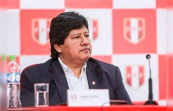 peru football chief edwin oviedo arrested in graft probe