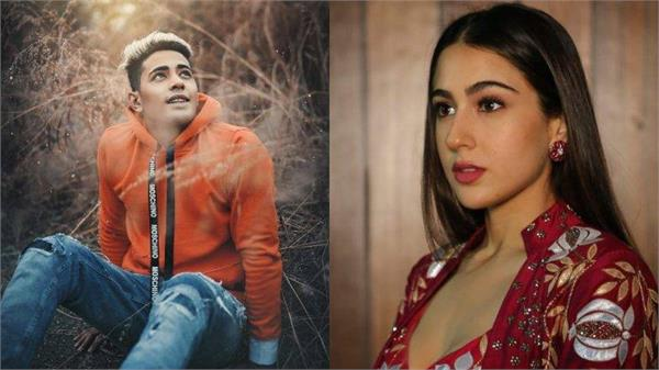 danish zehen last video with sara ali khan viral on social media