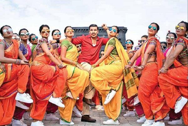 third song of simmba aala re aala release