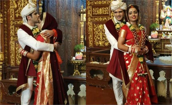 parul chauhan and chirag thakkar are married