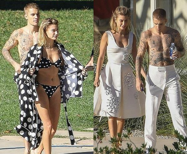 justin bieber photoshoot with hailey baldwin