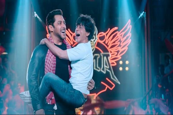 shahrukh khan movie zero new song release
