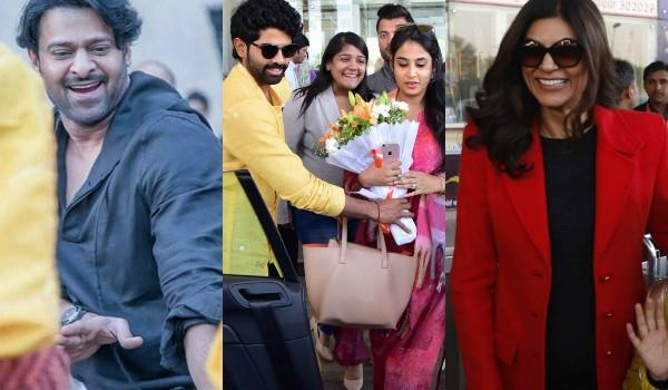 stars reached jaipur rajamouli son karthikeya wedding