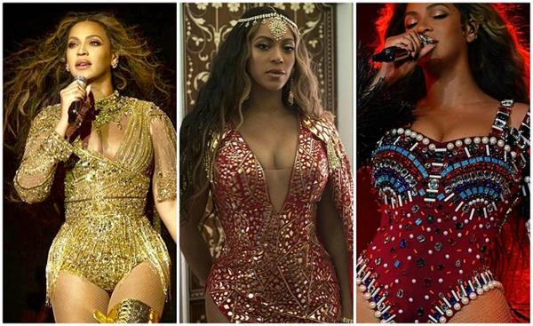 beyonce wore 3 indian designer dresses for isha anand pre wedding
