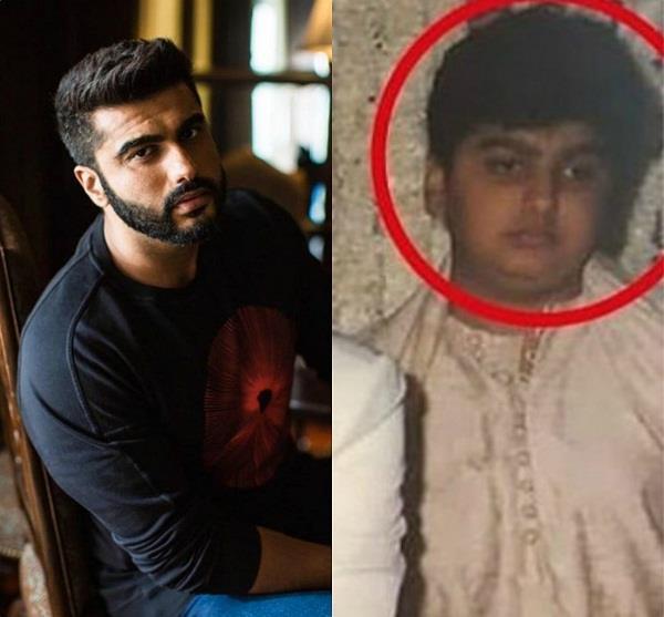 arjun kapoor childhood picture viral