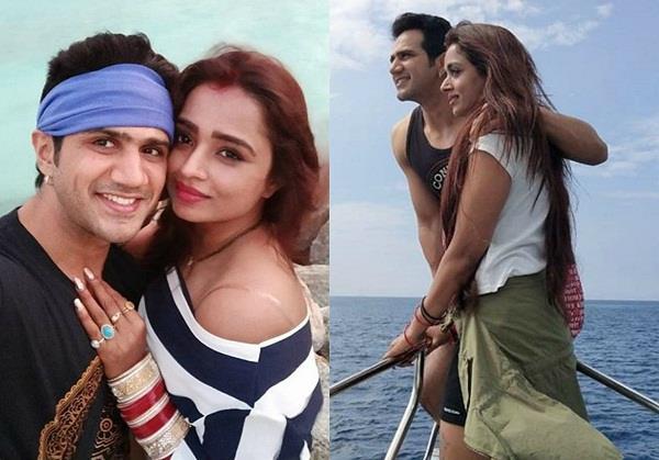 parul chauhan chirag thakkar enjoying honeymoon