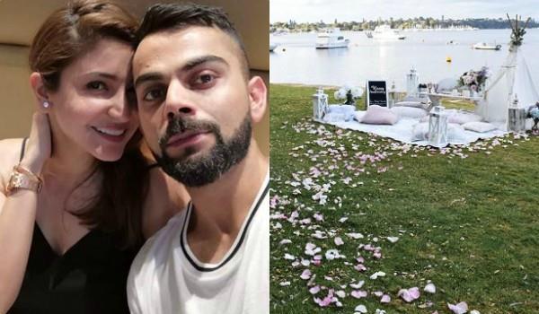 anushka virat celebrated their first wedding anniversary