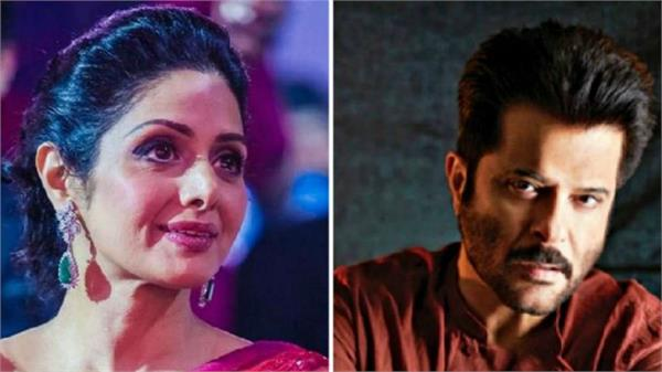 anil kapoor work first with shree devi