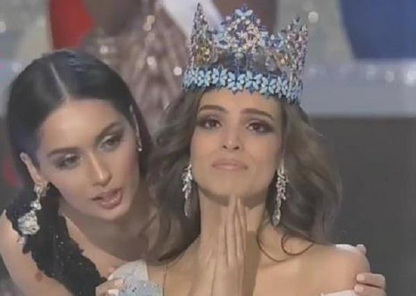 मेक्सिको की वनेसा पॉन्स बनीं मिस वर्ल्ड 2018, मानुषी छिल्लर ने पहनाया ताज
