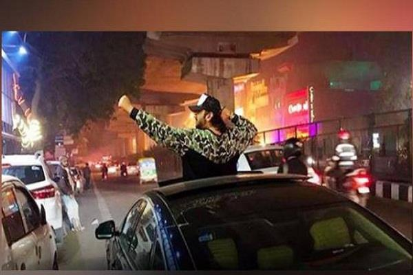 yo yo honey singh celebrate new year in delhi