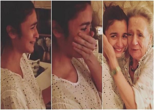 alia spend quality time with her grandmother