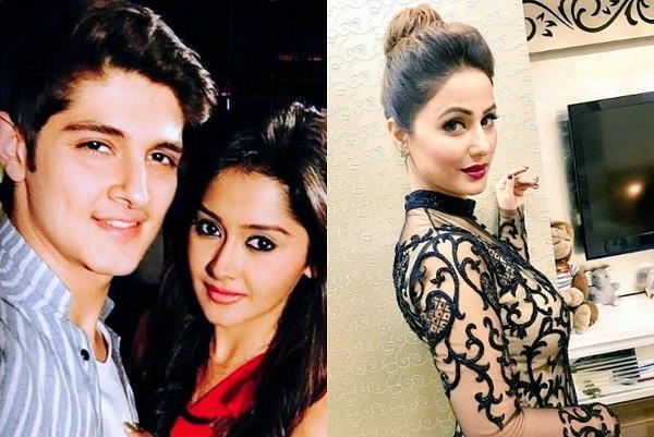 hina khan supported rohan mehra and kanchi singh