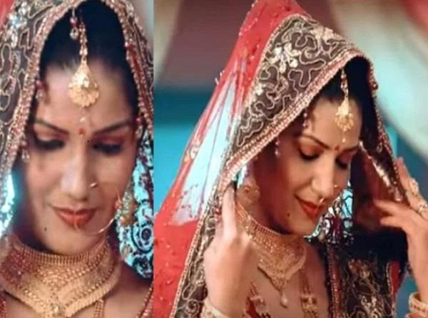 sapna chaudhary as bride in latest video