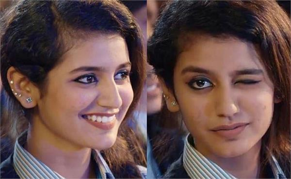 priya prakash varrier beats superstars with a wink