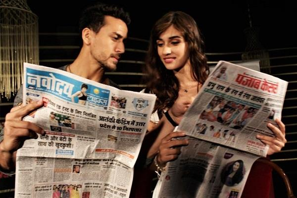 exclusive interview tiger shroff and disha patani baghi 2