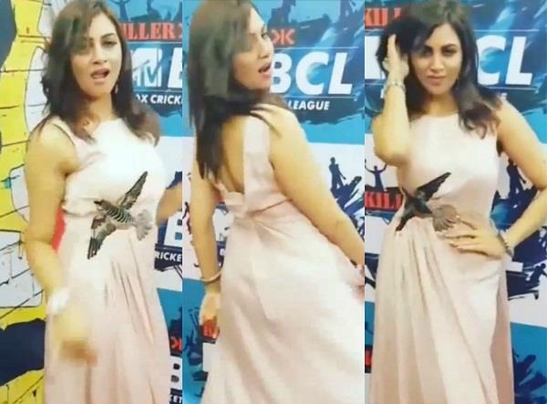 arshi khan dance video viral
