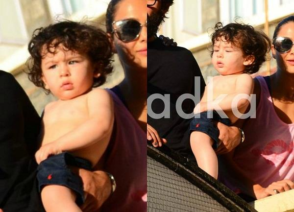 shirtless taimur cute pictures